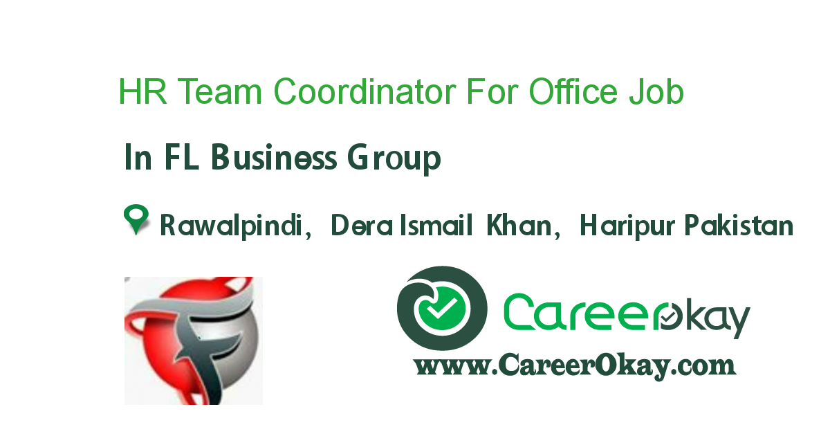 HR Team Coordinator For Office
