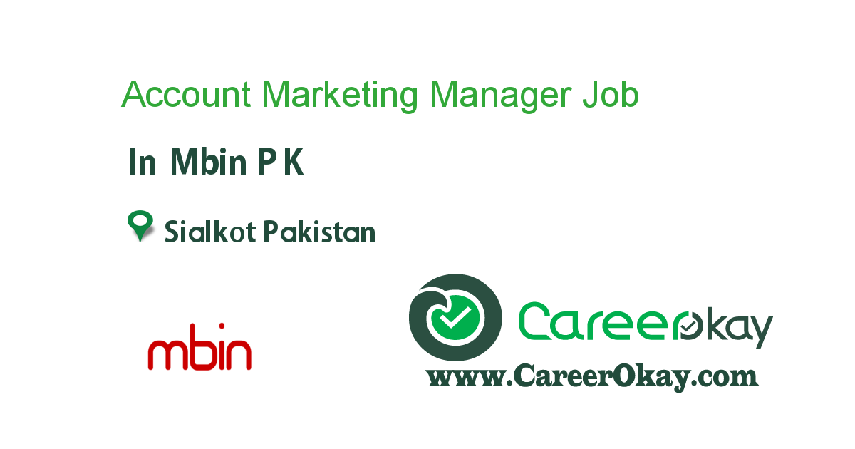 Account Marketing Manager