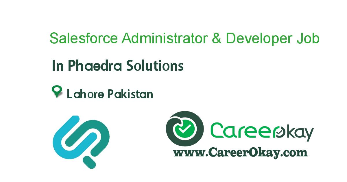 Salesforce Administrator & Developer