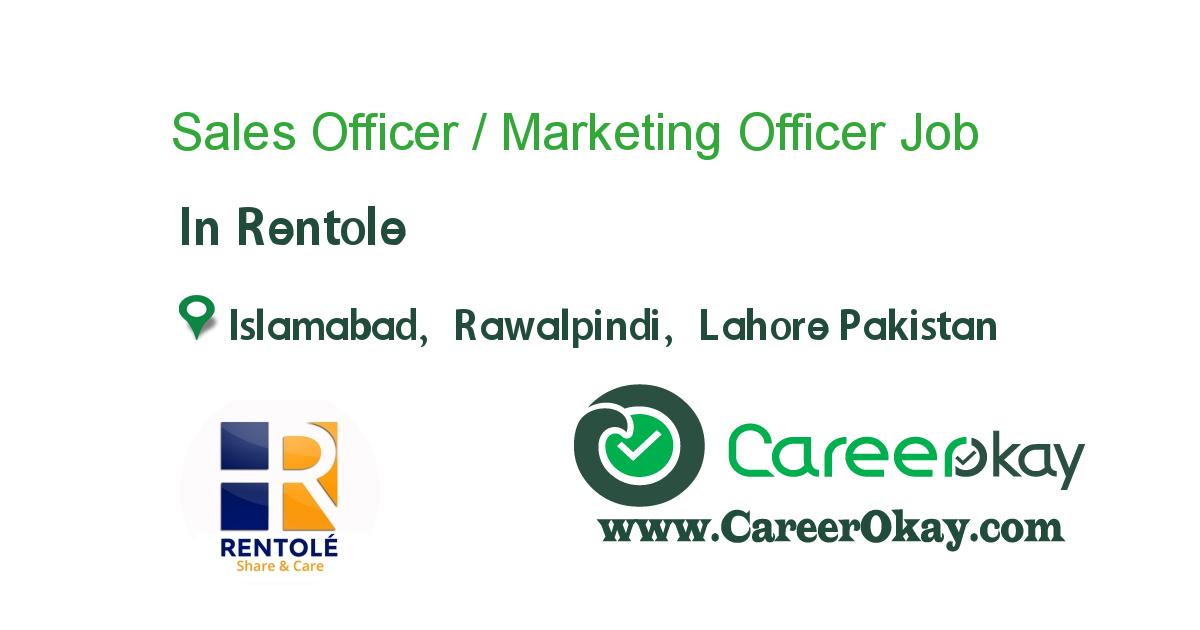 Sales Officer / Marketing Officer