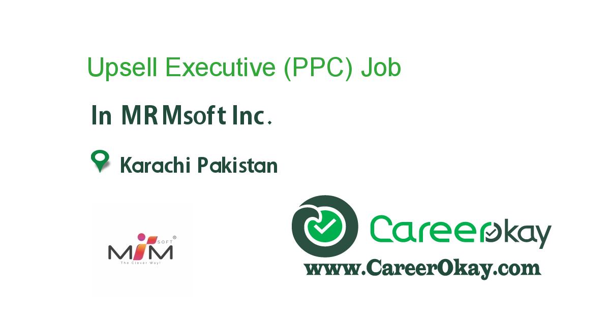 Upsell Executive (PPC)