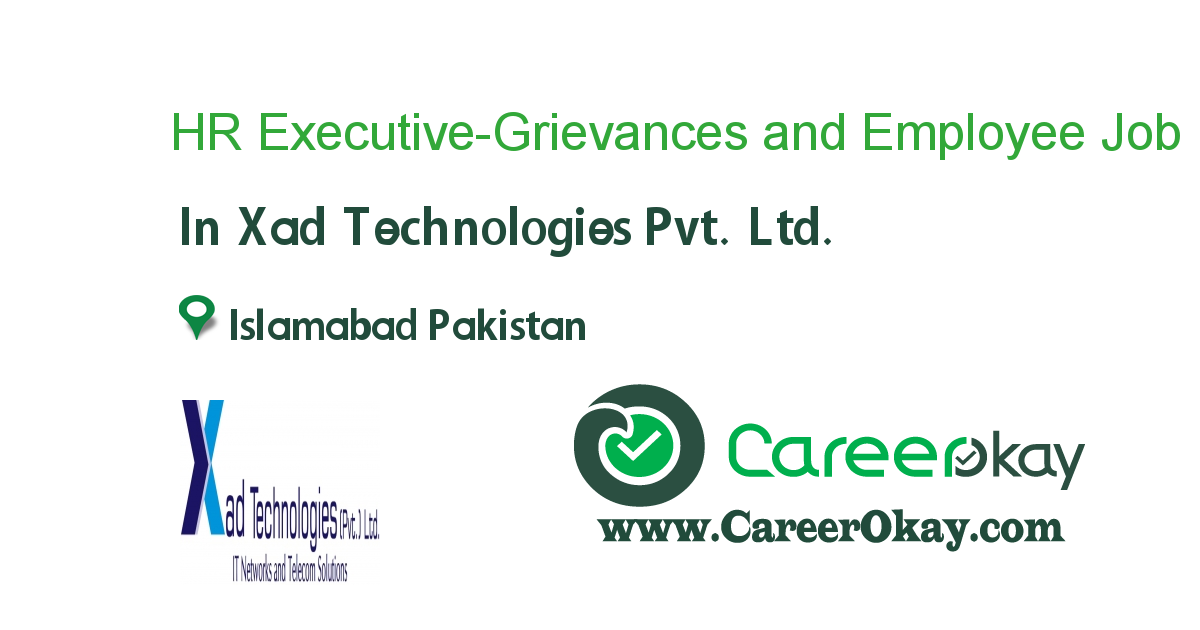 HR Executive-Grievances and Employee Relations