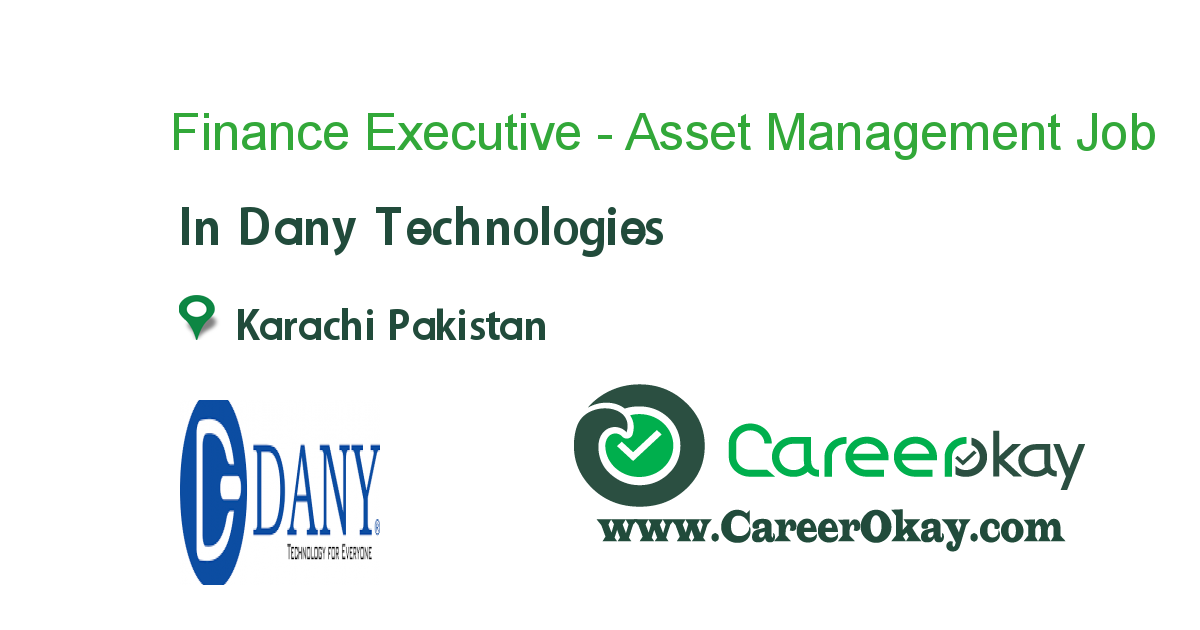 Finance Executive - Asset Management
