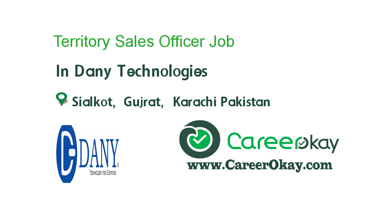 Territory Sales Officer