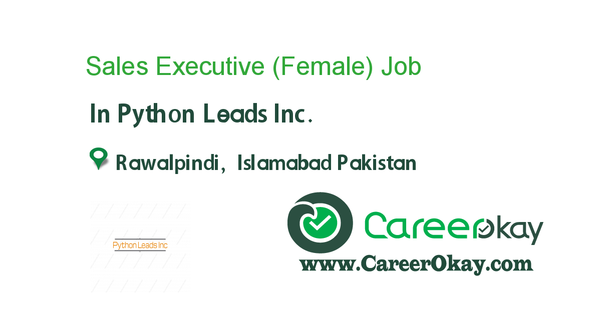 Sales Executive (Female)
