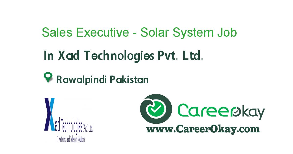 Sales Executive - Solar System