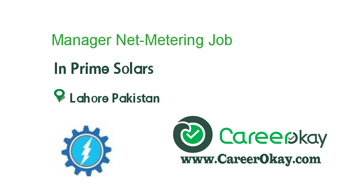 Manager Net-Metering