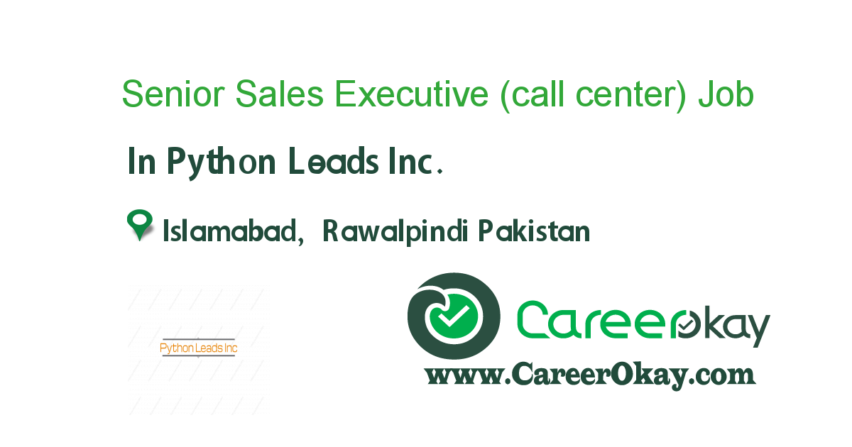 Senior Sales Executive (call center)