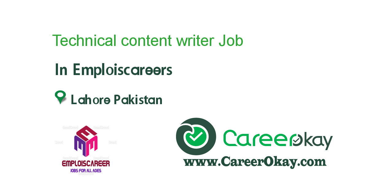 Technical Content Writer