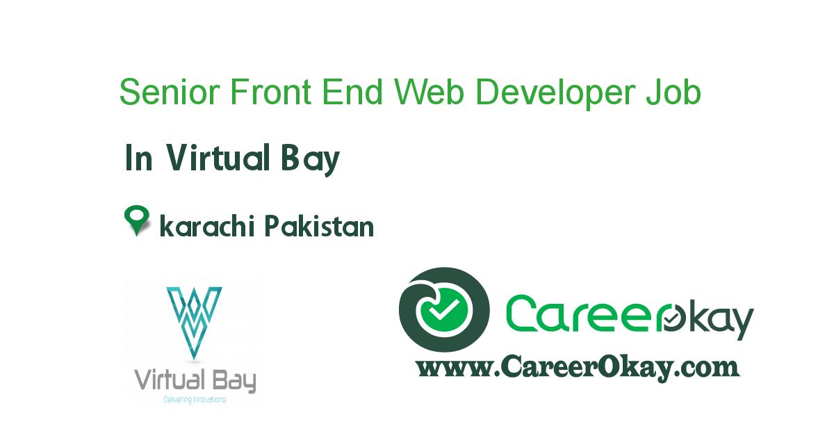 Senior Front End Web Developer