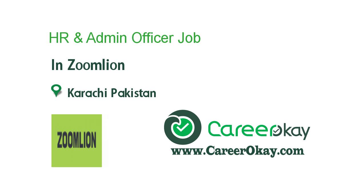 HR & Admin Officer