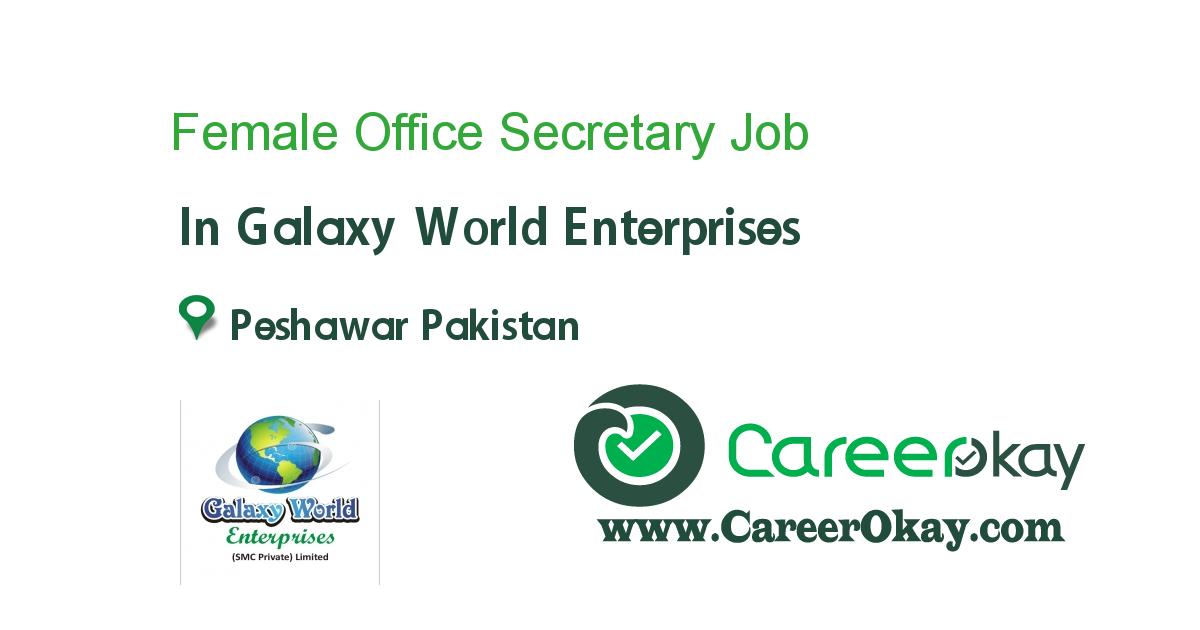 Female Office Secretary
