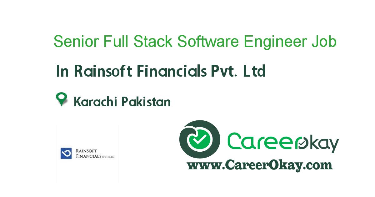 Senior Full Stack Software Engineer