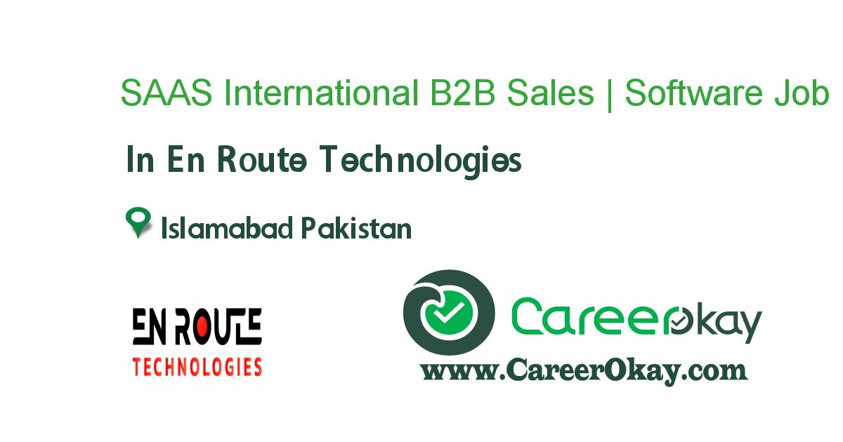 SAAS International B2B Sales | Software Sales
