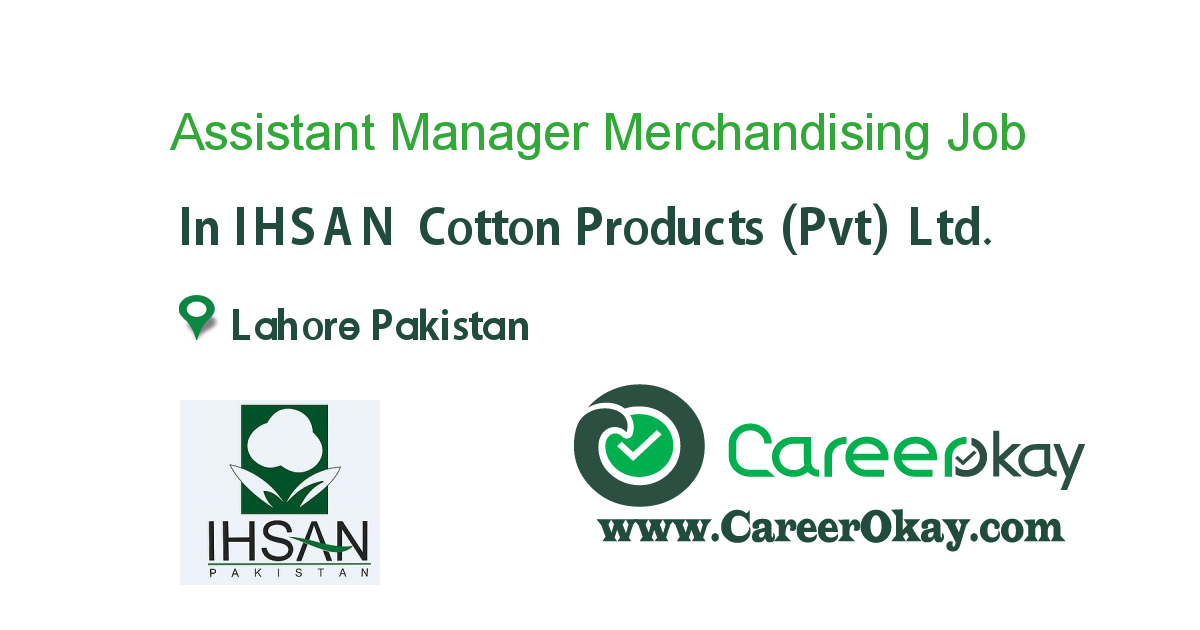 Assistant Manager Merchandising