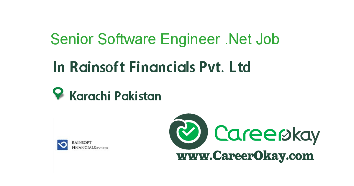 Senior Software Engineer .Net