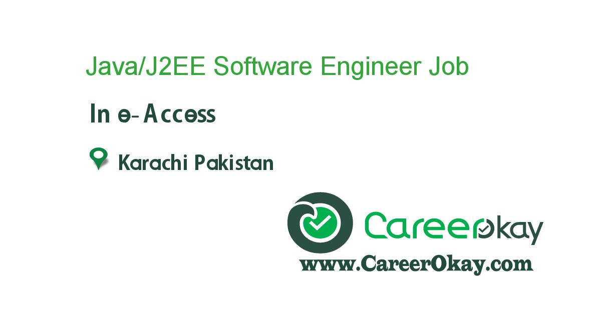 Java/J2EE Software Engineer