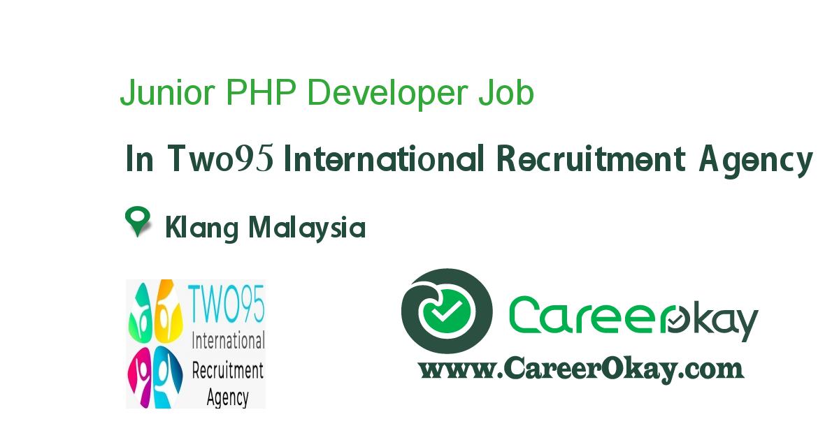 Junior PHP Developer