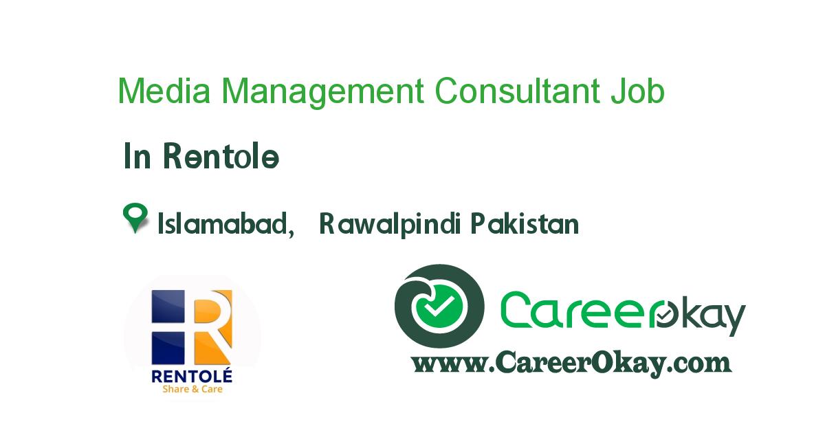 Media Management Consultant