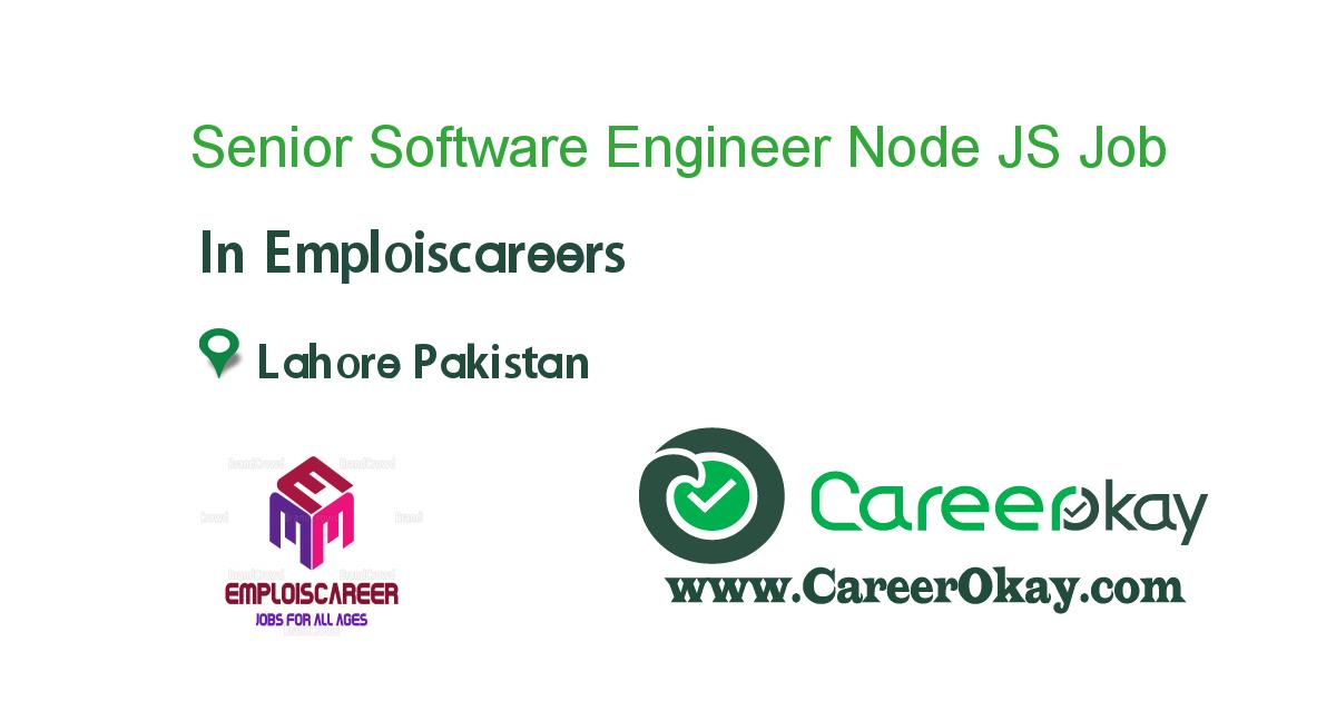 Senior Software Engineer Node JS