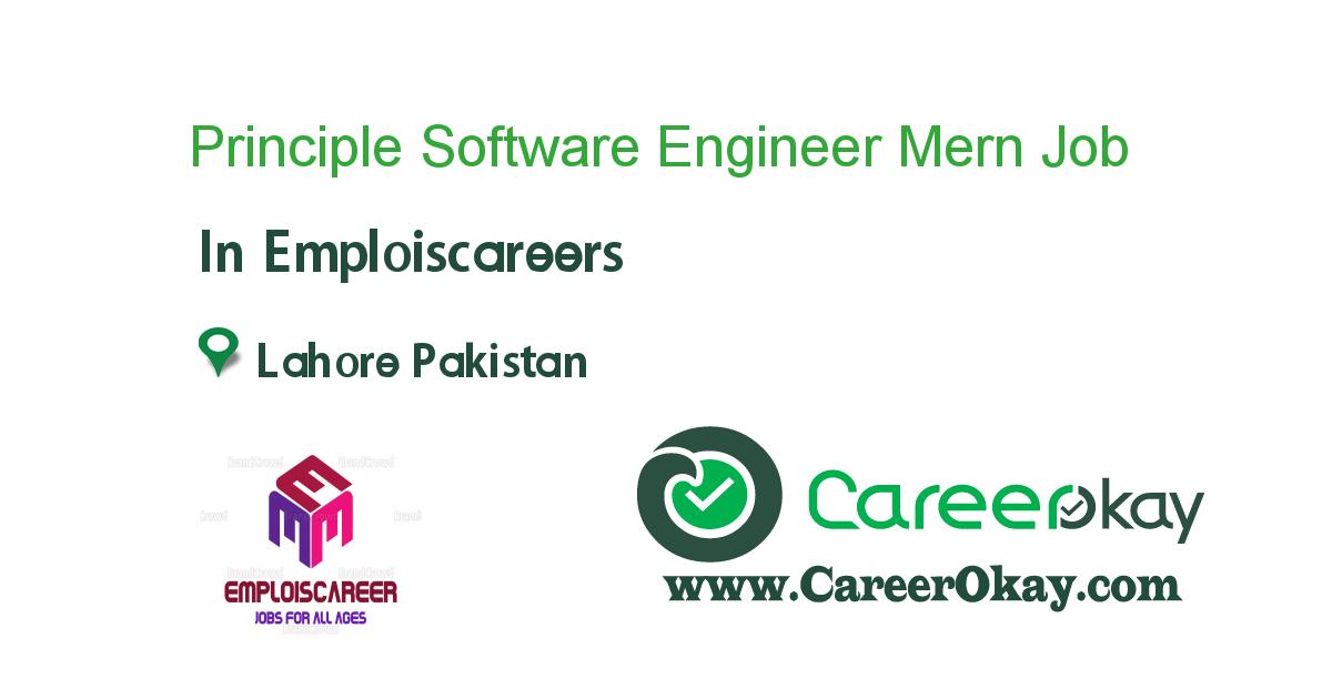 Principle Software Engineer Mern