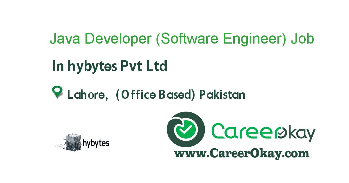 Java Developer (Software Engineer)