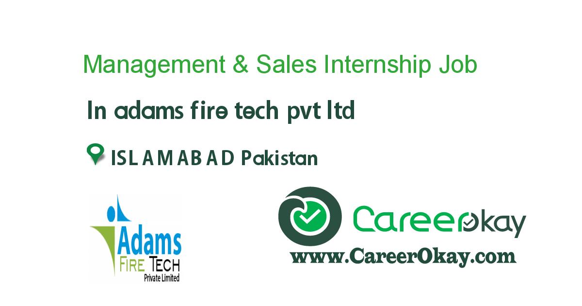 Management & Sales Internship