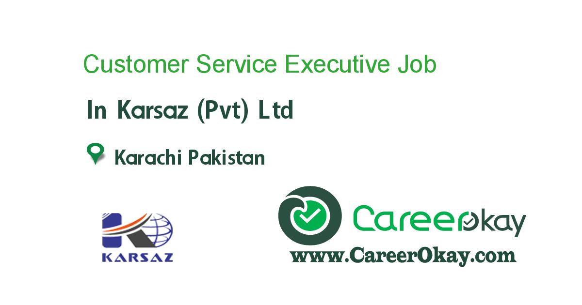 Customer Service Executive (Female)