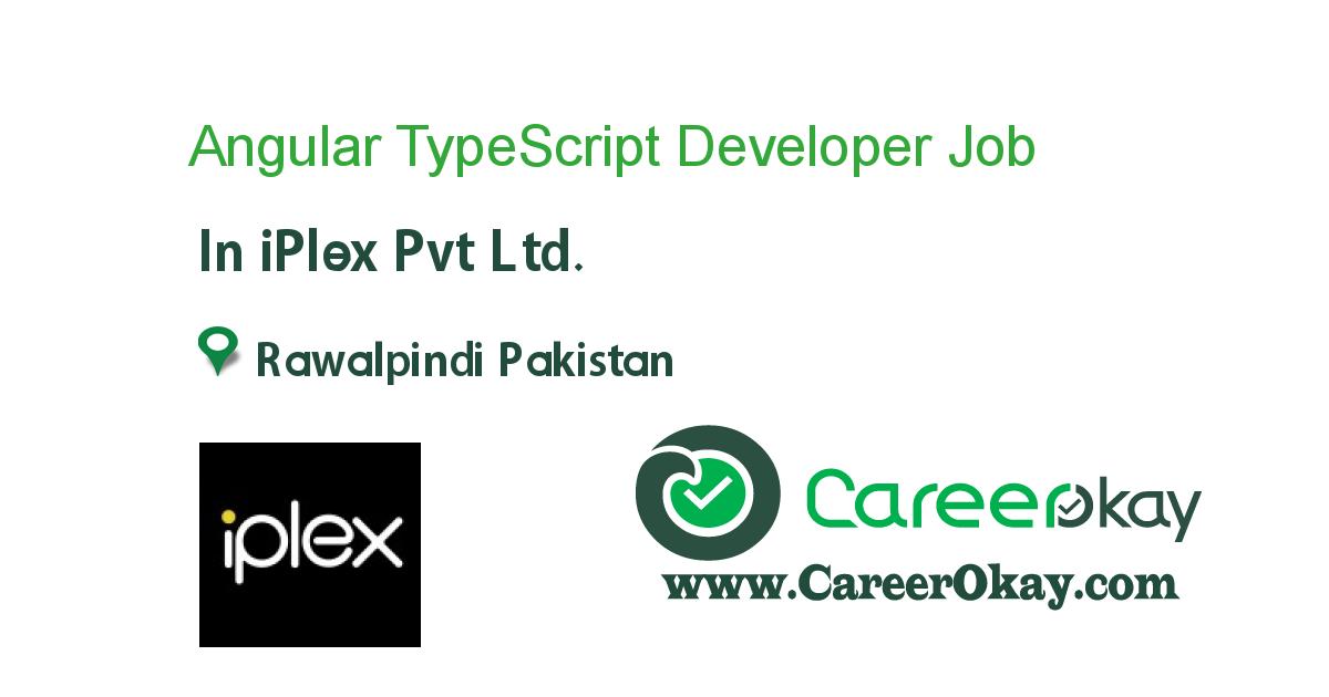 Angular TypeScript Developer