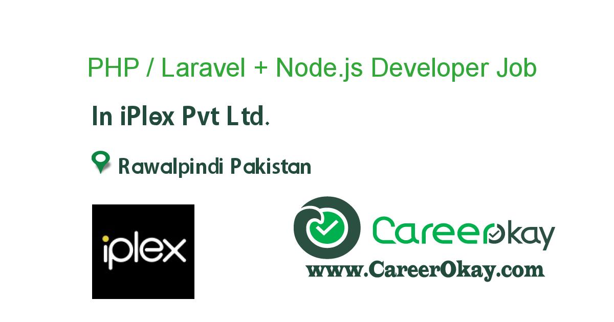 PHP / Laravel + Node.js Developer
