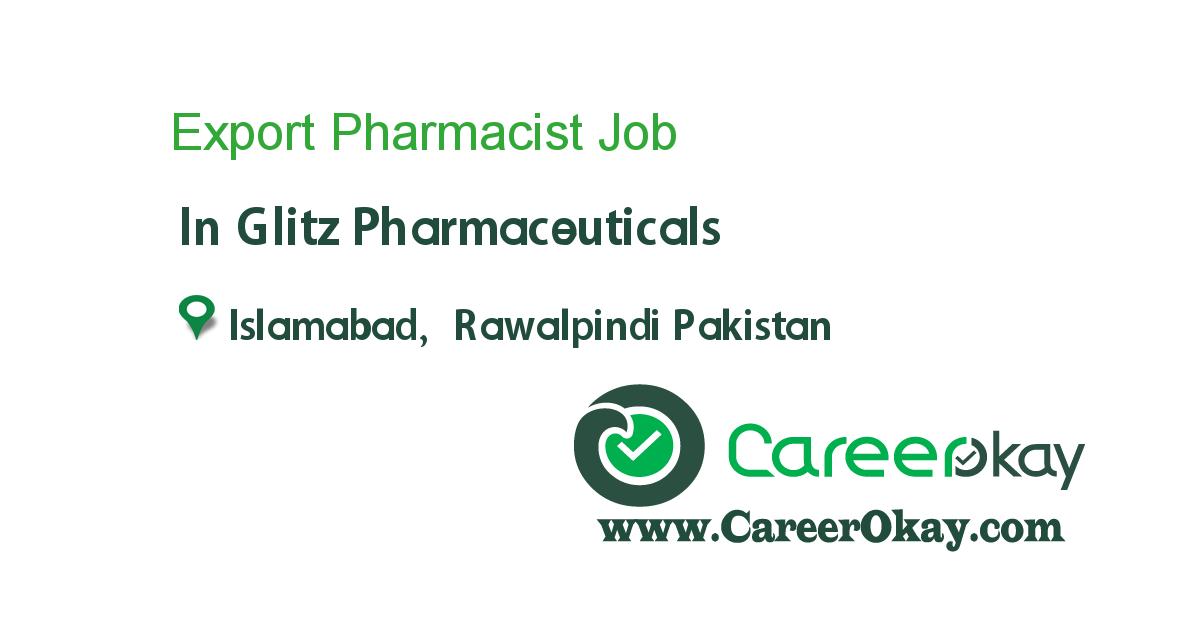 Export Pharmacist