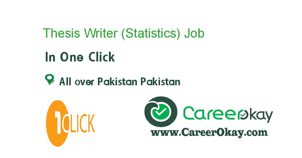 Thesis Writer (Statistics)