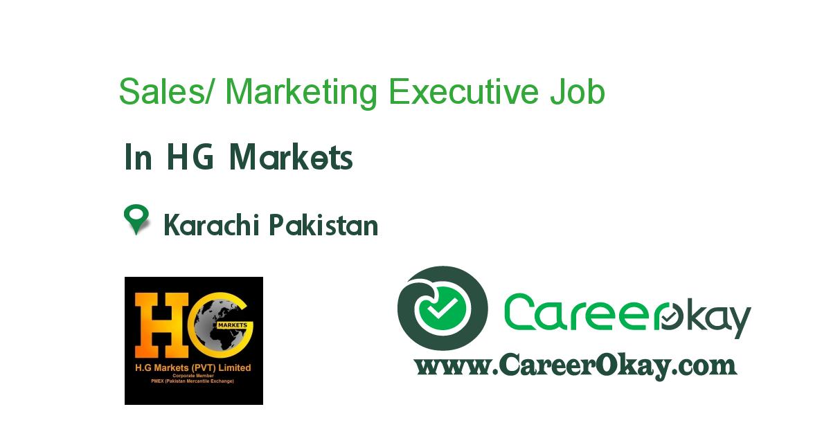 Sales/ Marketing Executive