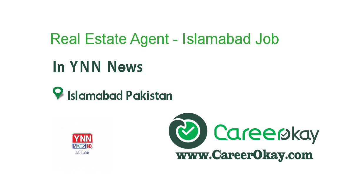 Real Estate Agent - Islamabad