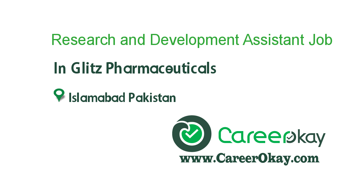 Research and Development Assistant