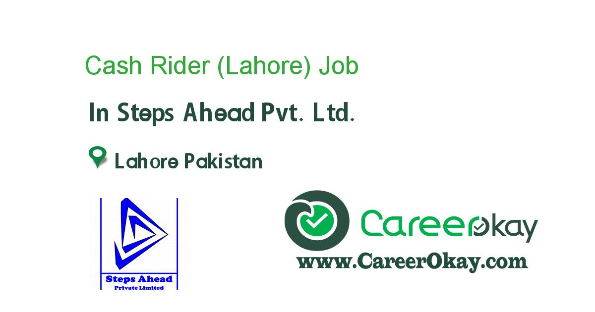Cash Rider (Lahore)