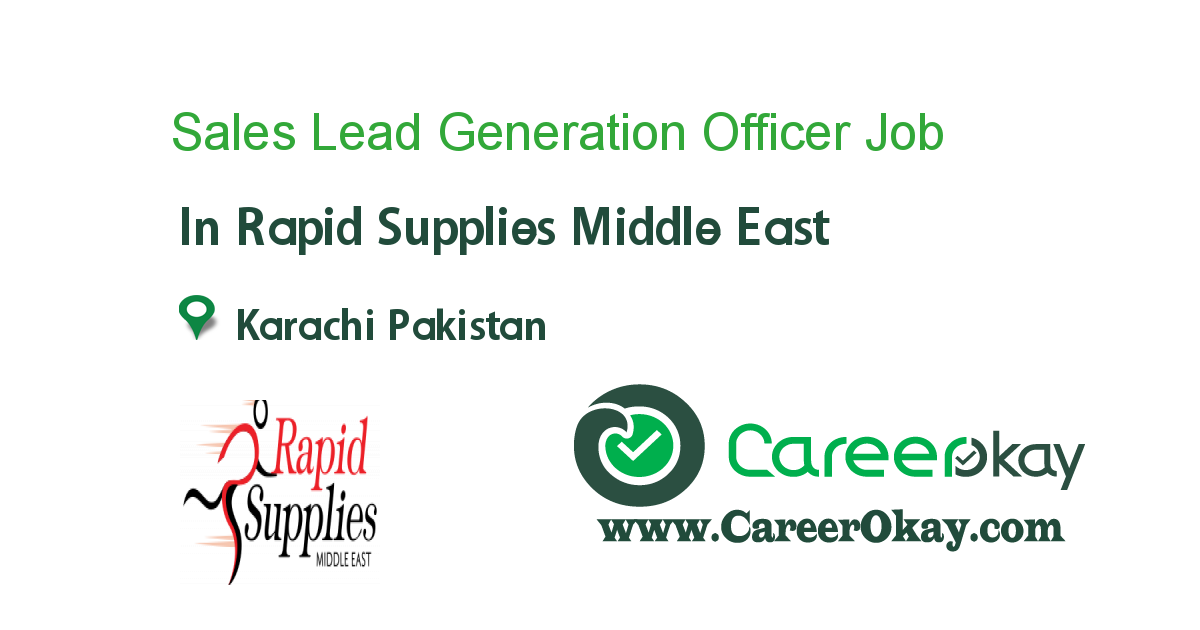 Sales Lead Generation Officer